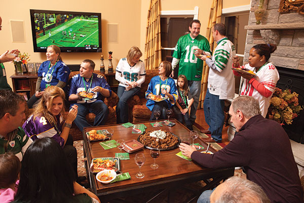 Adult bowl game house party super you
