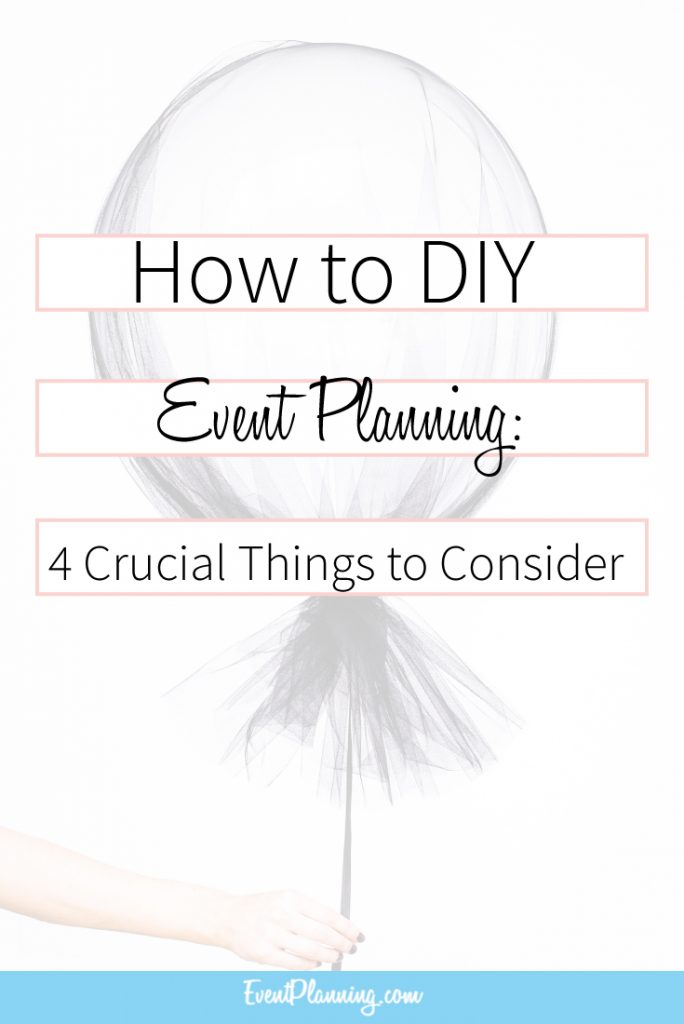 How to DIY Event Planning / Event Planning Business / Event Planning 101 / Event Planning Courses