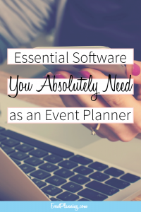 Important Software You Need as an Event Planner / Event Planning Tips / Event Planning Business / Event Planning Course / Event Planning 101